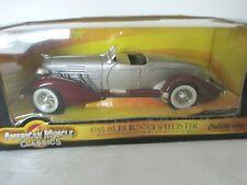 1935 Auburn 851 Speedster  Ertl Collectibles American Muscle Classics 1:18  NEW