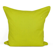 "Colorful Plain Dyed Cushion Cover 100% Cotton Home Sofa Décor Size 16"" 18"" 20"""