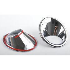 2Pcs Car Chrome Front Head Fog Lamp Light Cover Trim Bezel for Vitara 2015 2016