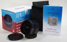 Nuevo Diseño nuevo lente MC Zenitar-N 2.8/16 Nikon ojo de pez