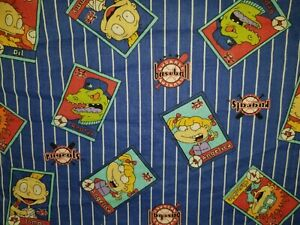 CUSTOM - NICKELODEON RUGRATS 90'S CARTOON BASEBALL WHITE WHITE HAND TOWEL SET 2