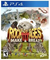 Rock of Ages III 3: Make & Break (PS4) BRAND NEW FACTORY SEALED PlayStation 4