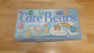 Care Bears Board Game 1983 Vintage  On The Path to Care A lot