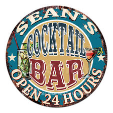 Cpco-0094 Sean'S Cocktail Bar Father's Day Valentine's Day Christmas Gift Sign