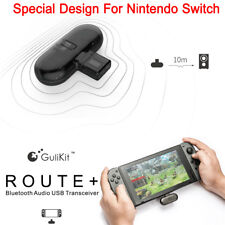 Gilikit Route+Bluetooth Adapter USB Type-C Audio Transmitter For Nintendo Switch