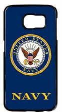 For Samsung Galaxy Note 5 US Navy USN Army Military Logo Back Skin Case Cover