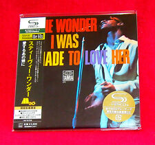 Stevie Wonder I Was Made To Love Her SHM MINI LP CD JAPAN UICY-93870