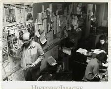 1967 Press Photo Editor Allan Katzman at the East Village Other Journal Office