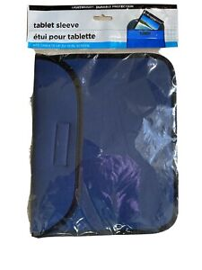 """Tablet Sleeve Computer Pouch Lightweight Protective Foam Cover Up To 10"""" Screen"""
