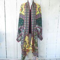 New Umgee Duster Kimono Cardigan XL XXL Floral Scarf Boho Peasant Plus Size
