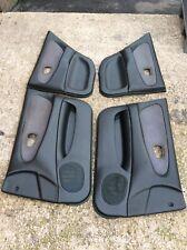 Mitsubishi Lancer Evo 2 Door Cards, Set Of 4 Front And Rears, Black Plastic Trim