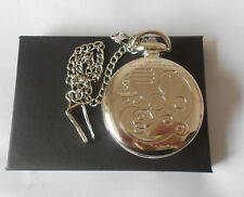 DR WHO DOCTOR DOTTOR COLLANA NECKLACE OROLOGIO POCKET WATCH GALLIFREYAN TARDIS 1