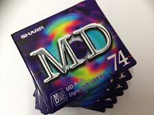 Sharp MD-R 74 Digital Audio Minidisc. nuevo y desenvuelto. ** ** GRATIS UK FRANQUEO