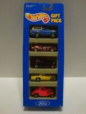 Hot Wheels 1993 Ford 5 Car Gift Pack Bronco T-Bird Stocker 1:64 Diecast C16-203