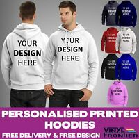 Custom Printed Hoodies | Design Your Own Hoody | Personalised Workwear Hoodies