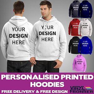 Custom Printed Hoodies | Design Your Own Hoody | Personalised Workwear Hoodies