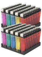 100 Neon Brand Disposable Lighters Butane Cigarette Cigar Bulk Wholesale Lot