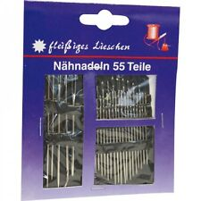 10 Stück Handarbeit Nadel 3-9 YKK Stopfnadeln Fein No