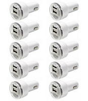 10x 2.1A Car Charger Adapter For iPhone Android Samsung kindle LG HTC Dual USB