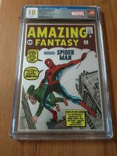 Amazing Fantasy 15 CGC 10.0 Gem! Silver Foil .999 ounces. Low Print Run!! Rare!