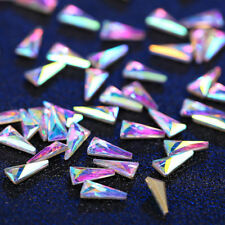 Nail Art Glass 3D Glitter Chic Crystal Rhinestone Tips Decor Diamond Ornaments