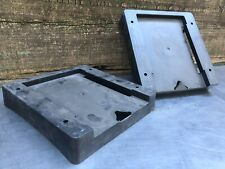 -Lot of 2- Hmmwv M998 Optima 34, 6Tagm, 6Tmf, 6Tl, 6T Battery Tray Adapter Rack