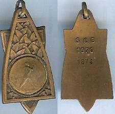 Sports marche - Marche à pied A C B 1970 1974 bronze