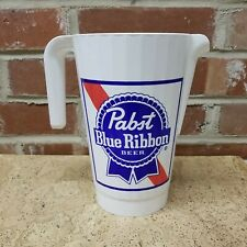 Pabst Blue Ribbon Pbr Plastic Pitcher Very Nice 1500 Ml