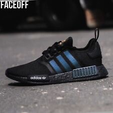 Adidas NMD R1 Black / Reflective Xeno Sneakers UK 11.5 / EU 46 2/3