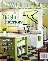 New Old House Magazine Bright Interiors Inspired Kitchens Authentic Details 2012