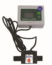 "Micro Digiflow 1/4NPT Digital Flow Meter count up total Water Liter LPM 56""cable"
