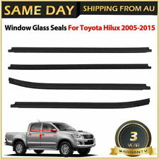 For Toyota Hilux 2005-2015 Window Glass Seals Door Belt Weatherstrip SR5 AU