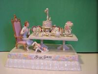 LENOX PRESENTING your DINNER BEAUTY and the BEAST FLOAT NEW in BOX withCOA Belle