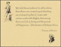 Patriot Art - Thomas Jefferson & The Declaration of Independence
