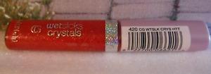 Cover Girl Wetslicks Crystals Lip Gloss Hottie 420 Code Stick CG LipStick Stick