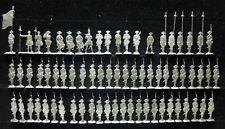70 Zinnfiguren Preussen Infanterie 30mm 7jährigen Krieg unbemalt