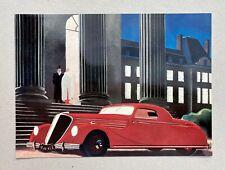 Encart Automobiles Renault Viva et Nerva Grand Sport 1935