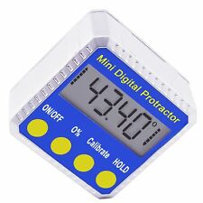 Digital Protractor Angle Gauge Finder Bevel Level Box Inclinometer with Magnet