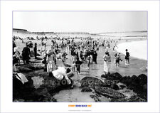 SYDNEY BONDI BEACH SUNDAY 1907 HERITAGE A3 POSTER PRINT PHOTO PICTURE IMAGE x