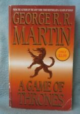 A GAME OF THRONES GEORGE R.R. MARTIN Vintage Paperback Book Bantam B185