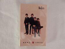 """The Beatles """"Real Love"""" Cassette Single! BRAND NEW! STILL SEALED!!"""