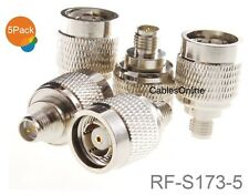 5-Pack RP-SMA Female to RP-TNC Male RF Adapter, CablesOnline RF-S173-5