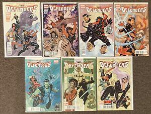 The Defenders #1,2,3,4,5,6,7 Marvel Comics Matt Fraction Terry Dodson Lot Nm