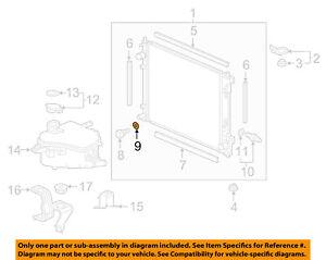 HONDA OEM Radiator-Drain Plug O-Ring Seal 19012PD2004