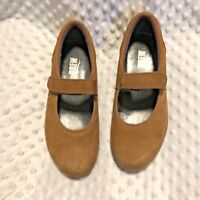 Drew Womens Sz 7.5 Wide Leather Mary Jane Shoes