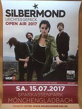 SILBERMOND  2017 M'GLADBACH + orig.Concert Poster -- Konzert Plakat  A1 NEU