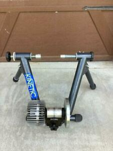 Kinetic by Kurt T-699C Gray Indoor Cycling Fluid Resistance Bike Trainer