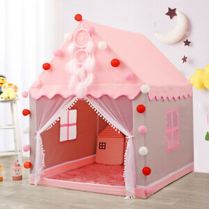 Kids Indoor/Outdoor Princess Castle Play House Baby Play Tent Room play Toy Gift