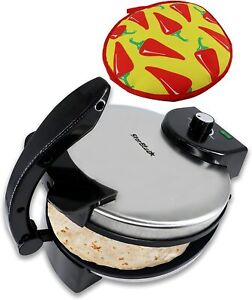 10inch Roti Maker by StarBlue with FREE Roti Warmer