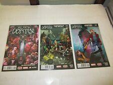 BLACK VORTEX COMPLETE 13 PART SET, Avengers Guardians Of The Galaxy X-Men, Hot 1